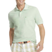 IZOD® Short-Sleeve Oxford Piqué Polo