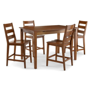 jcpenney.com | Dining Possibilities 5-pc. Counter-Height Rectangular Dining Set