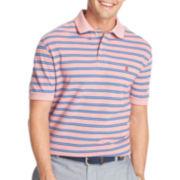 IZOD® Short-Sleeve Striped Oxford Piqué Polo