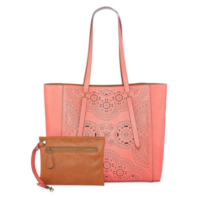 arizona perforated reversible tote bag jcpenney