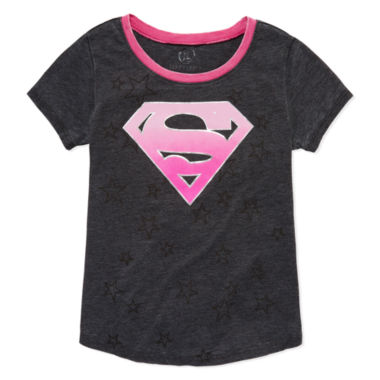 jcpenney.com | Short Sleeve DC Comics T-Shirt-Big Kid Girls