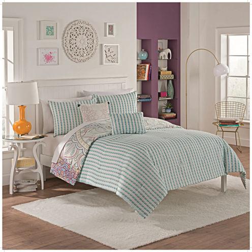 Vue Sibella 5-pc. Reversible Comforter Set