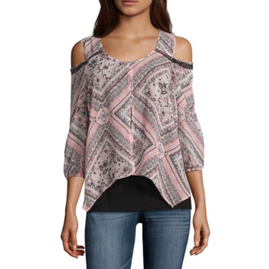 jcpenney.com | Alyx Cold Shoulder Top