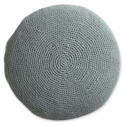 Design by Conran Crochet Round Decorative Pillow