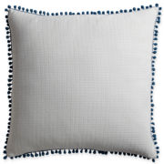 Design by Conran Pom-Pom Square Decorative Pillow