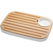 Joseph Joseph® Slice and Serve Cutting Board and Condiment Bowl