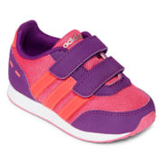 adidas® VLNEO Switch Girls Athletic Shoes - Toddler