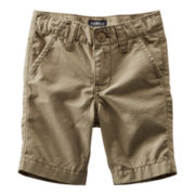 OshKosh B'gosh® Solid Woven Shorts - Boys 5-7