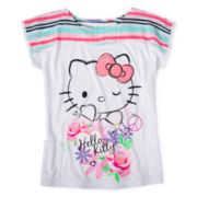 Hello Kitty Short-Sleeve Tee - Girls 4-16