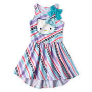 Hello Kitty® Striped Tank Dress - Girls 4-16