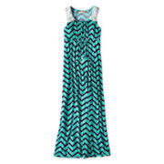 Speechless Chevron-Print Sleeveless Maxi Dress - Girls 7-16