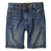 Joe Fresh™ Denim Shorts - Boys 1t-5t