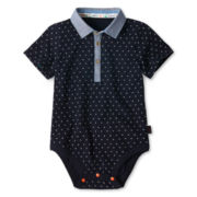 Baker by Ted Baker Sailboat Print Bodysuit - Boys newborn-24m