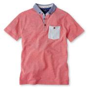 Baker by Ted Baker Short-Sleeve Piqué Polo Shirt - Boys 6-14