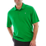 IZOD Short-Sleeve Piqué Golf Polo-Big & Tall