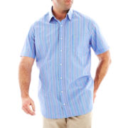 TailorByrd Short-Sleeve Woven Shirt-Big & Tall