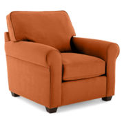 Fabric Possibilities Roll-Arm Chair