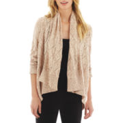 i jeans by Buffalo Pointelle Flyaway Cardigan