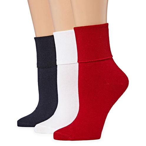 Mixit 3pk Mary Jane Socks