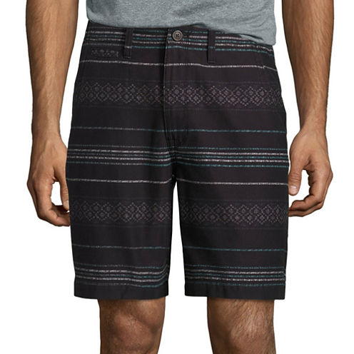 "Arizona 8 1/2"" Inseam Flat Front Flex Shorts"