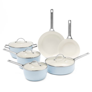 jcpenney.com | GreenPan Padova 10-pc. Hard Anodized Non-Stick Cookware Set