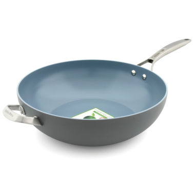jcpenney.com | GreenPan Paris Pro Hard Anodized Non-Stick Wok