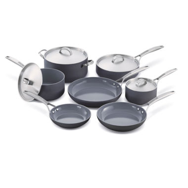 jcpenney.com | GreenPan Paris Pro 11-pc. Hard Anodized Non-Stick Cookware Set