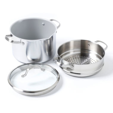 jcpenney.com | GreenPan Venice Pro 3-pc. Stainless Steel Stockpot