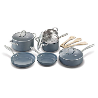 jcpenney.com | GreenPan Lima 12-pc. Hard Anodized Non-Stick Cookware Set