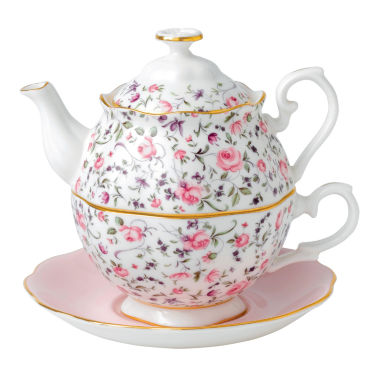 jcpenney.com | Royal Albert Rose Confetti 3-pc. Serving Set