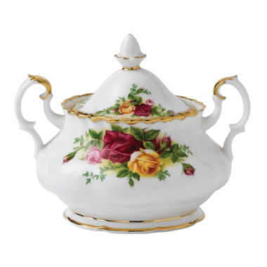 jcpenney.com | Royal Albert Old Country Roses Sugar Bowl