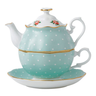 jcpenney.com | Royal Albert Polka Rose 3-pc. Serving Set