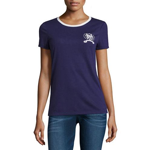 Us Polo Assn. Short Sleeve Crew Neck T-Shirt-Womens