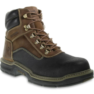 "jcpenney.com | Wolverine® Armortek Corsair 6"" Mens Composite-Toe Work Boots"