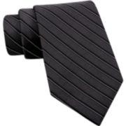 Claiborne® Thin-Stripe Silk Tie