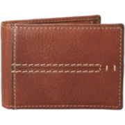 Relic® Channel-Stitched Flip-Fold Wallet
