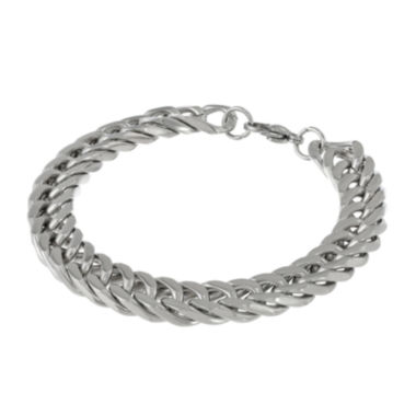 jcpenney.com | Mens Stainless Steel Curb Chain Bracelet