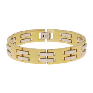 jcpenney.com | Mens Gold IP Stainless Steel Chain Bracelet