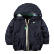Carter's® Lightweight Hooded Navy Jacket - Baby Boys newborn-24m
