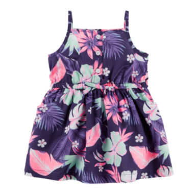 jcpenney.com | Carter's® Sleeveless Floral Dress - Baby Girls newborn-24m