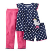 Carter's® Dot 3-pc. Set – Baby Girls 12-24m
