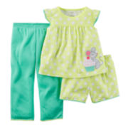 Carter's® Dot 3-pc. Set – Baby Girls 12m-24m