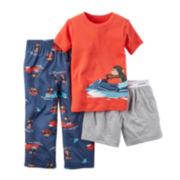Carter's® Monkey 3-pc. Pajama Set - Toddler Boys 2t-5t