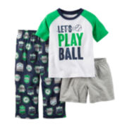 Carter's® Car Racer 3-pc. Pajama Set - Baby Boys 12m-24m