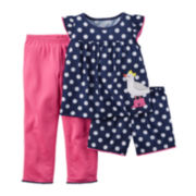 Carter's® Dot 3-pc. Set – Toddler Girl 2t-5t