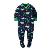 Carter's® Dinosaur Footed Pajamas - Baby Boys newborn-24m