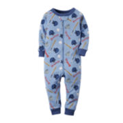 Carter's® Baseball Footless Pajamas - Toddler Boys 2t-5t