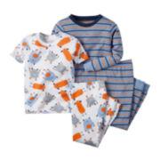 Carter's® Monster 4-pc. Pajama Set - Baby Boys newborn-24m