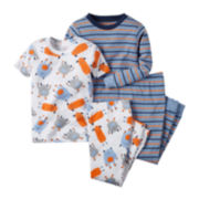 Carter's® Monster 4-pc. Pajama Set - Toddler Boys 2t-5t