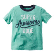 Carter's® Dude Short-Sleeve Cotton Tee - Preschool Boys 4-7